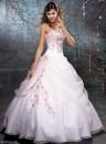 vestido de noiva rosa 4