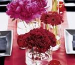 mesa de casamento com flores 1