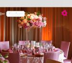 mesa de casamento com flores 2