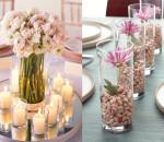mesa de casamento com flores 3