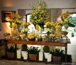 mesa de casamento com flores 4