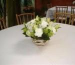 mesa de casamento com flores 5