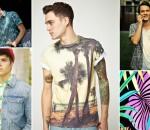 camisa masculina estampa tropical 1