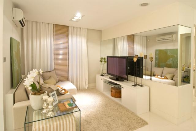 Sala De Tv Decorada Com Gesso ~ Sala de tv decorada, dicas especiais em nosso postModa e Conforto