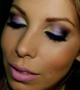 maquiagem colorida para reveillon 1