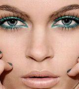 maquiagem colorida para reveillon 2