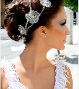 penteado de noiva com tiara 1