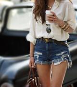 shorts desfiado da tendencia 4