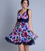 vestido curto estampado 2
