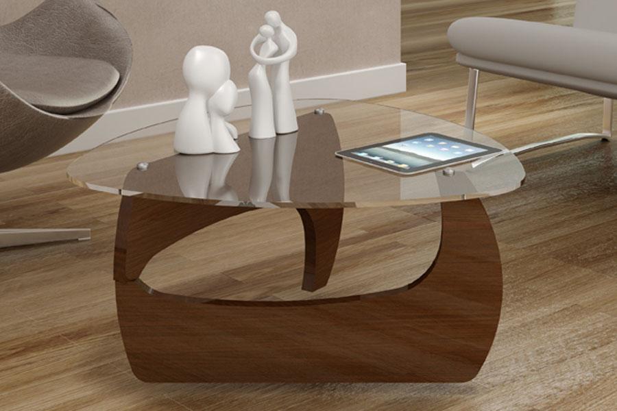 Mesa de centro com vidro confira a beleza de cada modelo - Modelos de mesa de centro ...