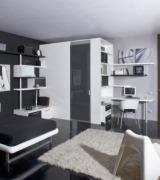 quarto com decoracao preta 4