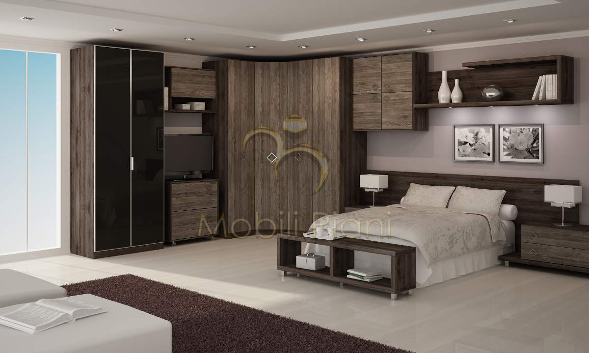 Quarto De Casal Planejado Conforto E Aconchego Moda E  ~ Quarto De Solteiro Planejado Para Apartamento Pequeno