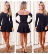 vestido curto com telinha 5