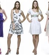 vestido curto de verao simples 6