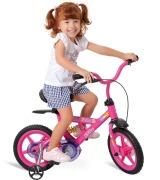 bicicleta infantil para menina com rodinhas 2