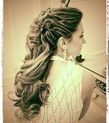 penteado meio preso para noivas 2