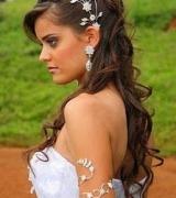 penteado meio preso para noivas 3