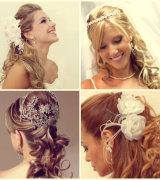 penteado meio preso para noivas 4