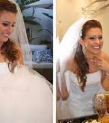 penteado meio preso para noivas 6