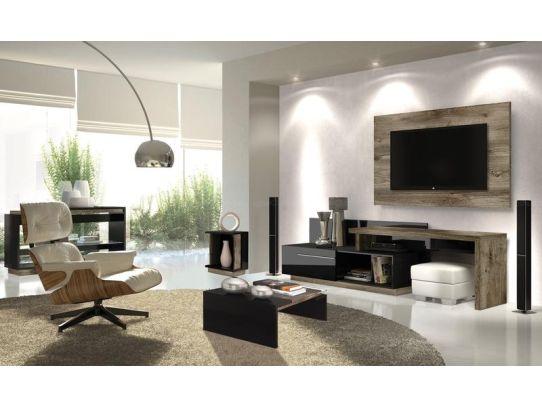 Foto De Sala Decorada Com Tv Na Parede ~ Praticidade e beleza TV na parede, dicas, posição e modelos  Moda e