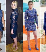 vestido azul royal de renda 2