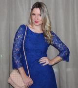 vestido azul royal de renda 7