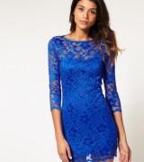 vestido azul royal de renda 9