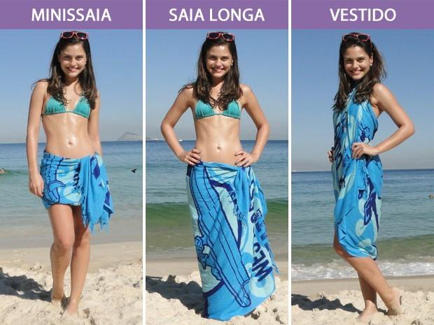 2ea5289f21b8 Lindos modelos de canga para praia, saibam como usar - Moda e ...