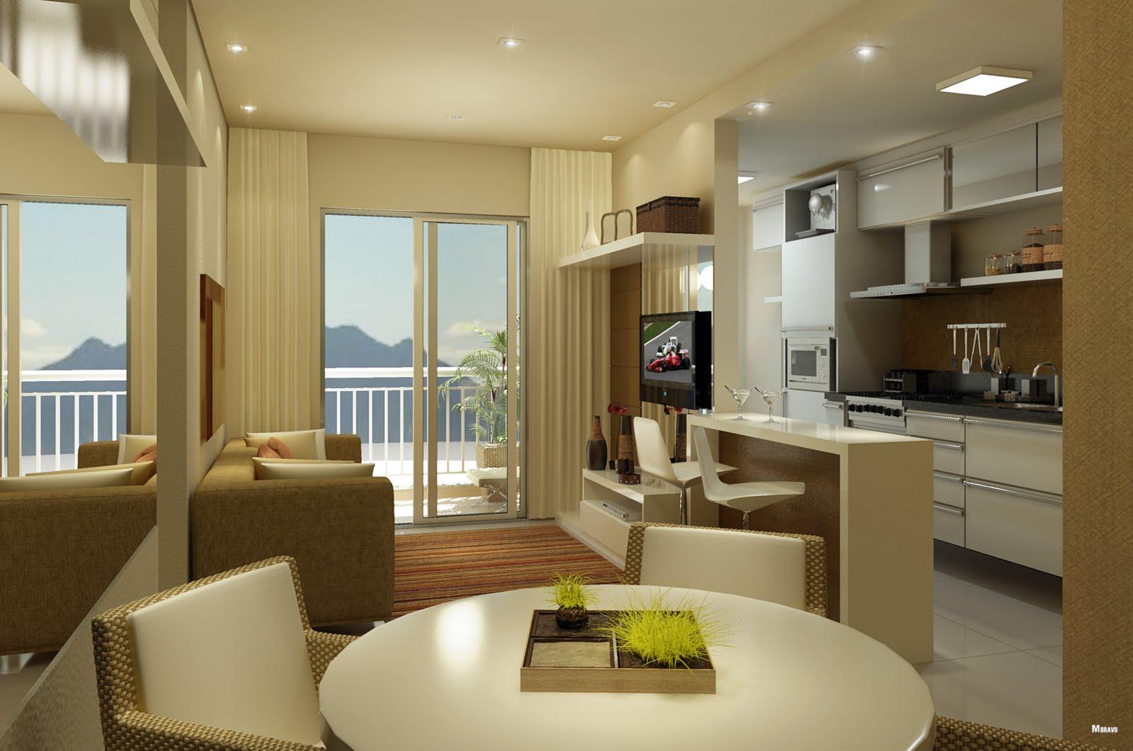 Como decorar apartamento pequeno tire duvidas aqui moda e confortomoda e conforto - Como decorar un apartamento ...