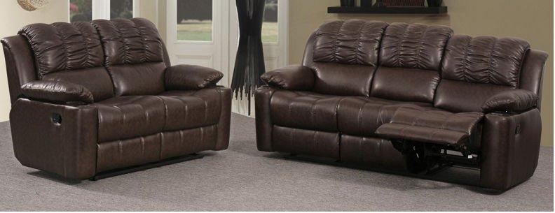jogo de sofá de couro 2