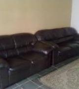 jogo de sofá de couro 3