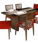 mesa de jantar com 6 cadeiras 2