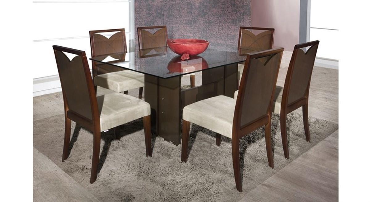 Comprar Sala De Jantar Herval ~  utilizado na fabricação de uma mesa de jantar com 6 cadeiras ela