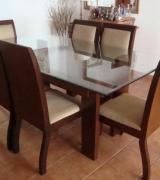 mesa de jantar com 6 cadeiras 4