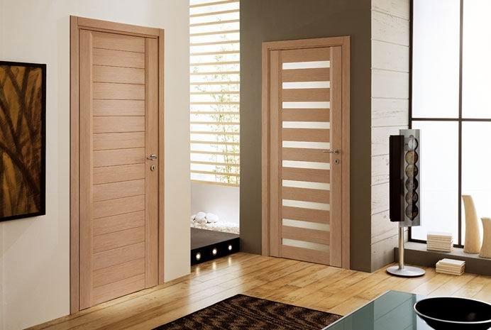 Porta de madeira para quarto lindos designers na moda - Tipos de puertas de interior ...