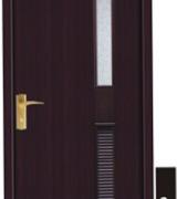 porta de madeira para quarto  fina colorida 11