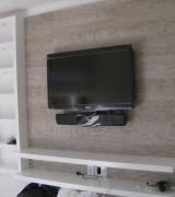painel com tv 12