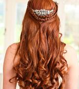 penteados com cachos 1