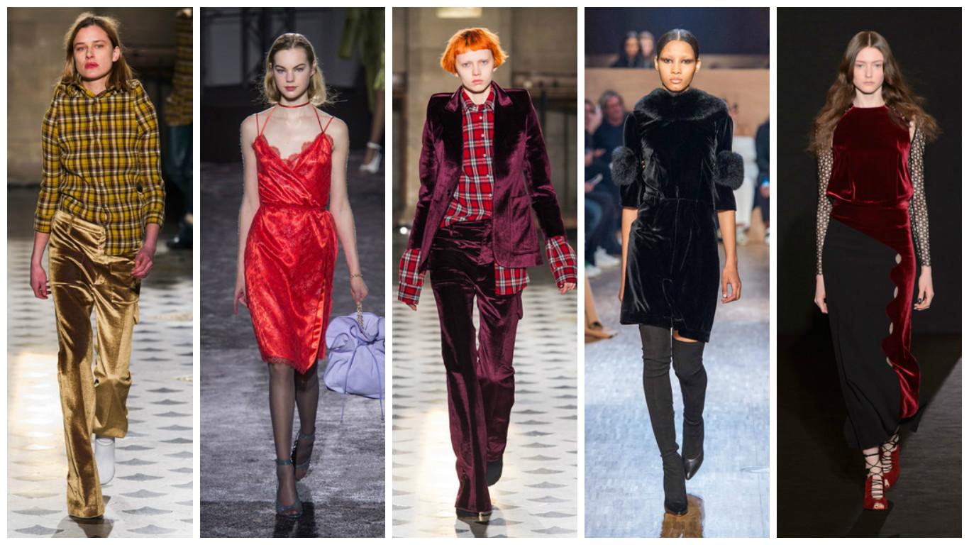 roupas femininas para noite 2017