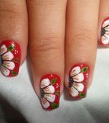 unhas com flor 6