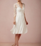 vestido de noiva curto 1