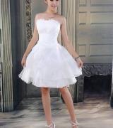 vestido de noiva curto 6