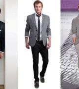 calca com blazer de terno esporte fino masculino