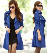 casaco longo feminino com cinto 3