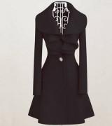 casaco longo feminino com cinto 4