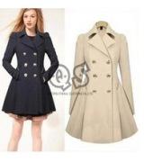 casaco longo feminino com cinto 6