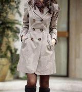 casaco longo feminino com cinto 7