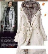 casaco longo feminino com cinto 9