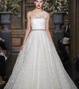 vestido de noiva um ombro 10