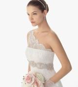 vestido de noiva um ombro 2